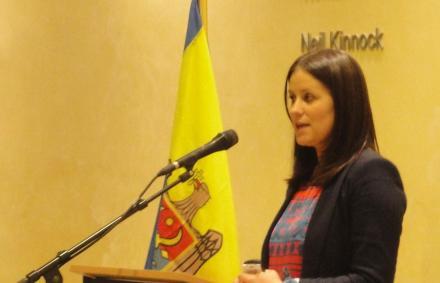 """Ludmila Bulgar, managerul poiectului """"Flower Bridge to Europe"""", IEMoldova asbl"""