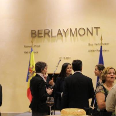 """Flower Bridge to Europe"" exhibition at Berlaymont building"