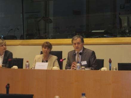 Seful delegatiei parlamentare de la Chisinau, Ion Hadirca