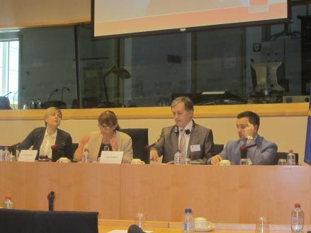Eurodeputata Monica Macovei, co-presedintele CPC UE-Moldova